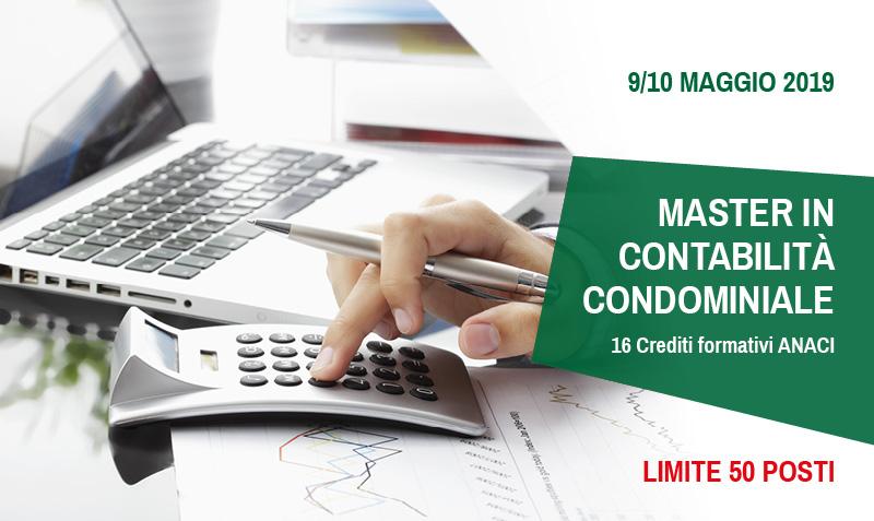 Master in contabilità condominiale 2019